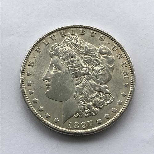 1897 Morgan Dollar (1021-1)