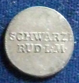 1804 German States/Scwarzburg-Rudolstadt 6 Pfennig AU+