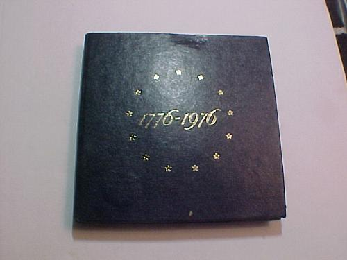 1976 S UNITED STATES BICENTENNIAL SILVER PROOF SET.   3 COIN SET