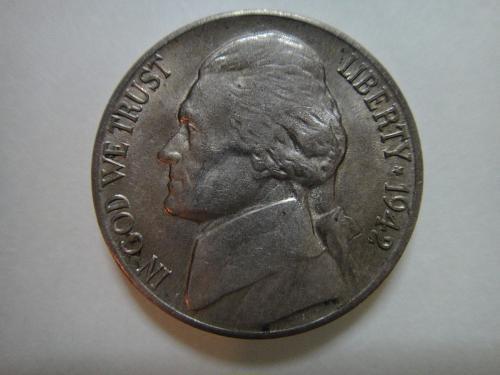 1942-D Jefferson Nickel Almost Uncirculated-58