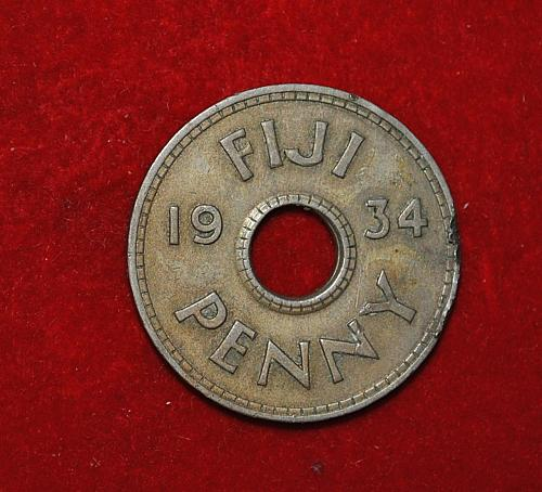 FIJI PENNY  1934 W310