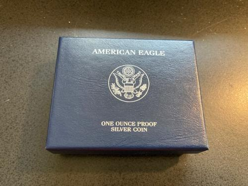2010 W Proof Silver Eagle. Perfect. Complete. Original owner.