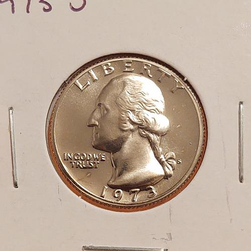 1973 S Washington Quarter