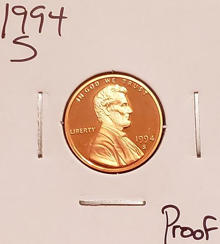 1994 S Lincoln Memorial Cent Small Cent