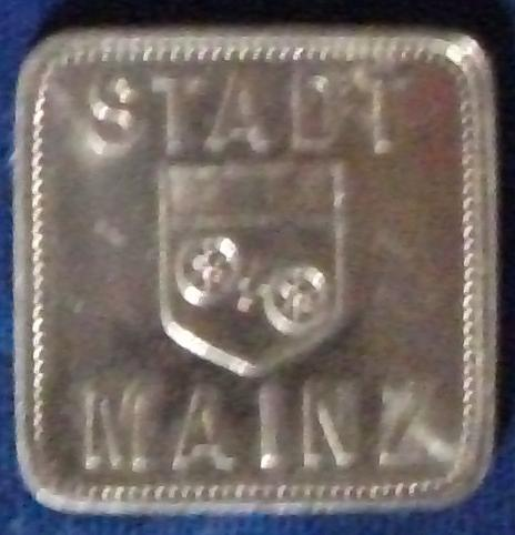Germany/Mainz Bread Token UNC