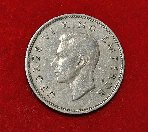 New Zealand Shilling1947 G483