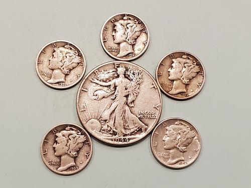 $1 Face Value Silver