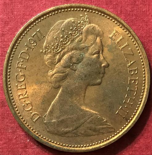 Great Britain - 1971 - 2 Pence