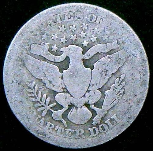 1912 Barber Quarters Early Silver Quarters  V2P2R1