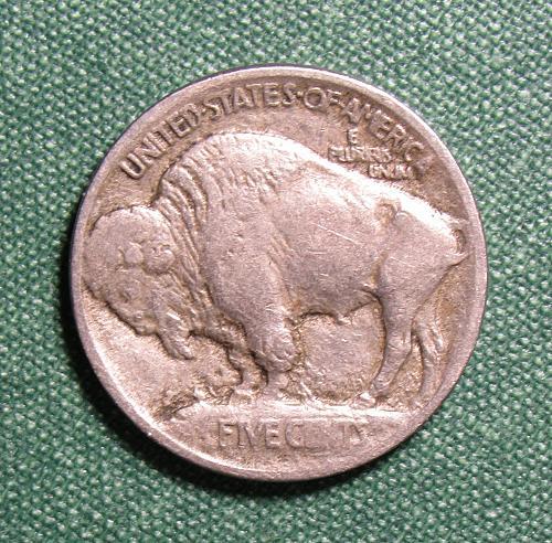 1913P Buffalo Nickel