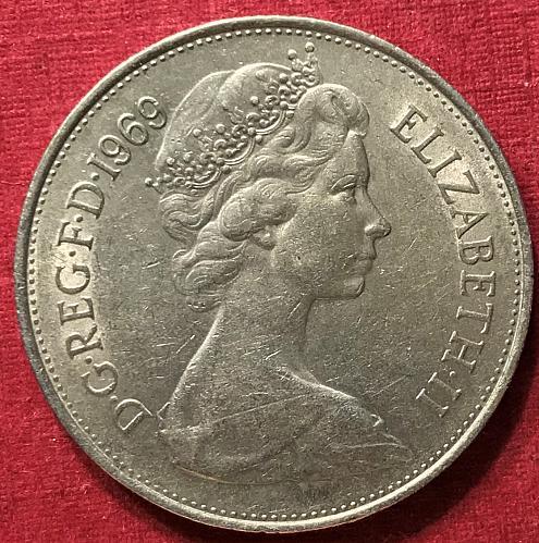 Great Britain - 1969 - 10 Pence