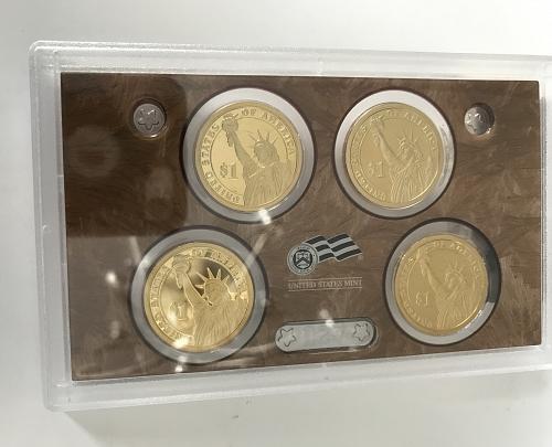 2010 S US Mint Silver Proof Set W/box and COA (1028-15)