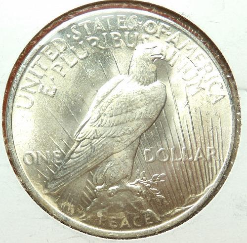 1923 Peace Dollar  MS62  #$-1923-2
