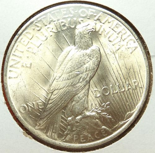 1923 Peace Dollar  MS63  #$1923-3