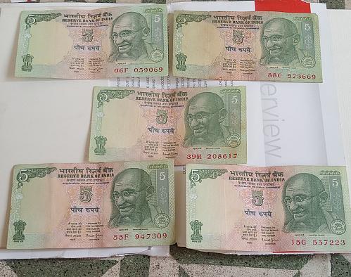 A)...India circulated lot..