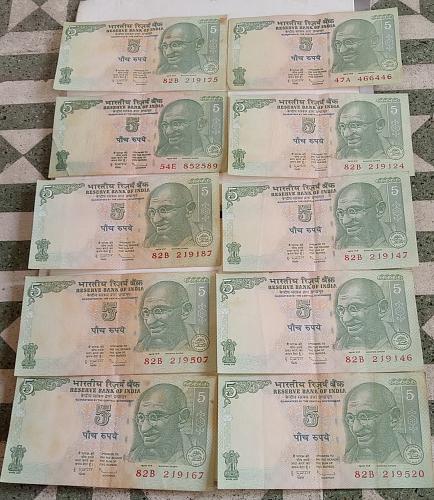 J)...India circulated lot..