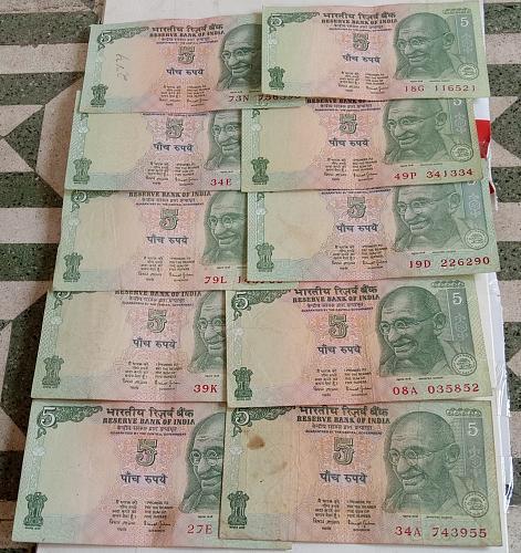 Z)..India circulated lot..