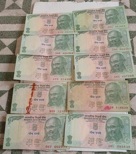 Y)..India circulated lot..