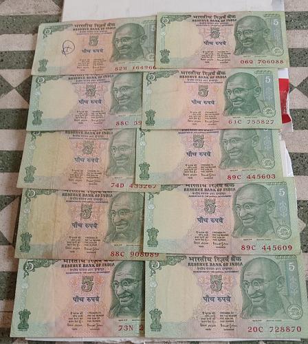W)..India circulated lot..