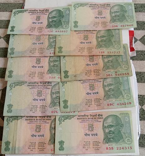 U)..India circulated lot..