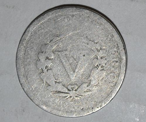 1890 P Liberty Nickel G527