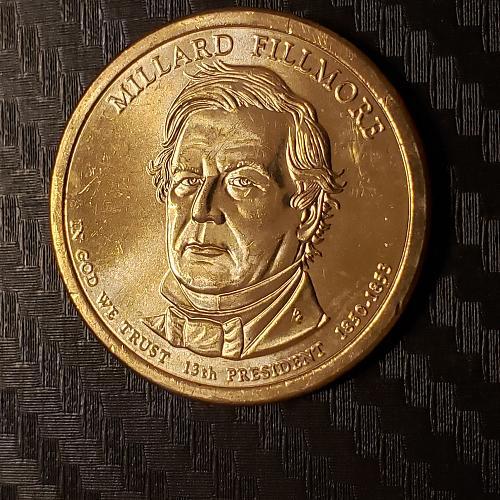 2010-D Presidential Dollar, Millard Fillmore
