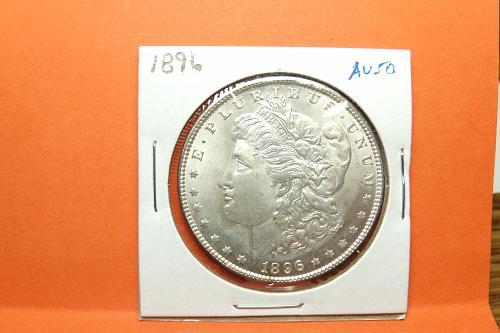 1896 Morgan Dollar  AU50  #$-1896-1