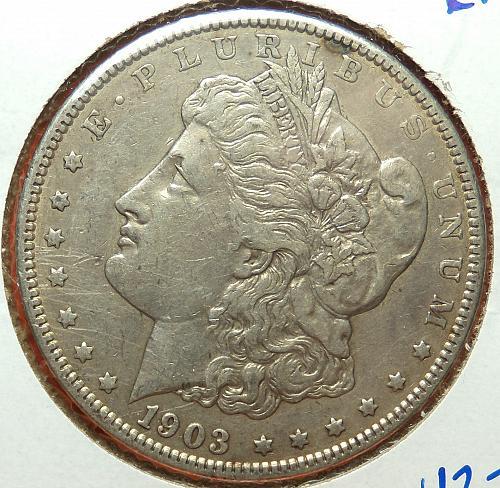 1903 Morgan Dollar  EF40  #$-1903-1