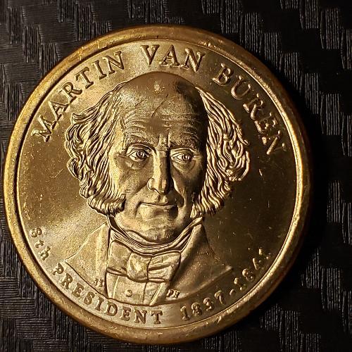 2008-D Presidential Dollar, Martin Van Buren