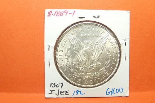 1889 Morgan Dollar  AU58  #$-1889-1