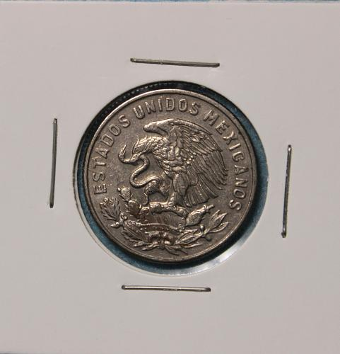 Mexico 1968 50 centavos