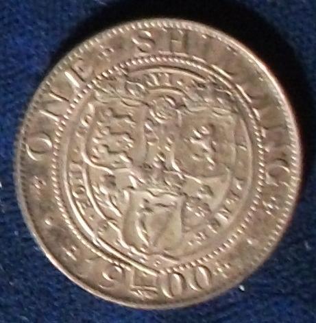 1900 Great Britain Shilling XF
