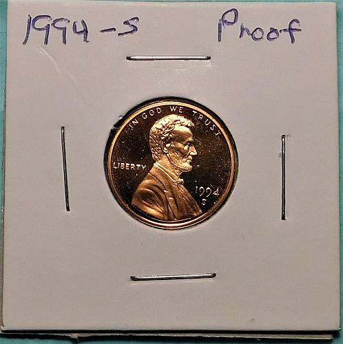 1994 S Lincoln Memorial Cent, PROOF