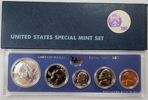 1967 SMS US Mint Set