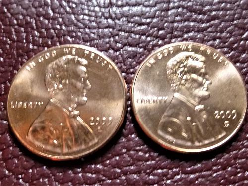 2009 P&D Lincoln Centennial Cents from Mint Rolls - Professional Life Ill. LP3
