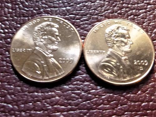 2009 P&D Lincoln Centennial Cents from Mint Rolls - Presidency LP4