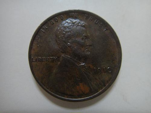 1910 Lincoln Cent Almost Uncirculated-55 Gorgeous Lusterous Coin!