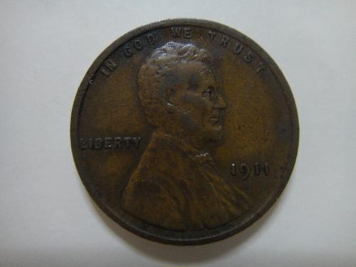 1911 Lincoln Cent Very Fine-20 Medium Chocolate Brown