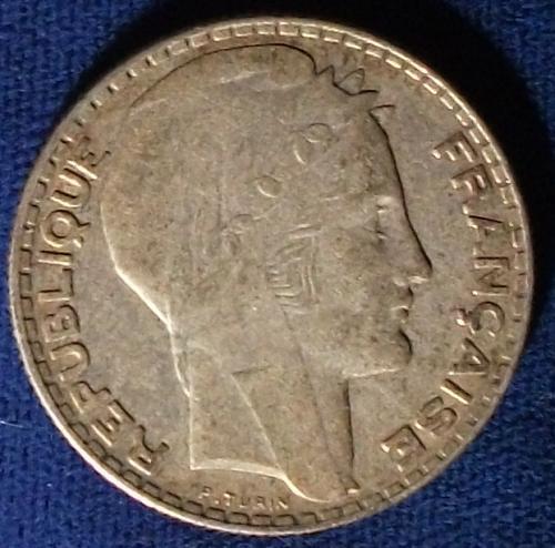1931 France 10 Francs VF