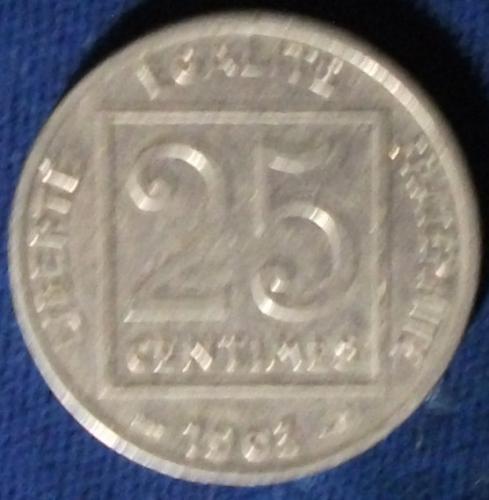 1903 France 25 Centimes VF #2