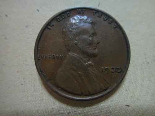 1933 Lincoln Cent Extra Fine-40 Nice Milk Chocolate Color!