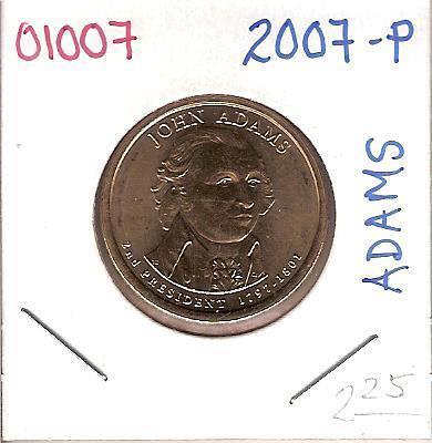 2007 Presidential John Adams