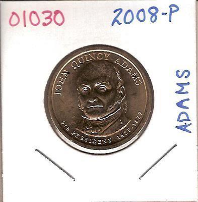 2008 Presidential John Quincy Adams