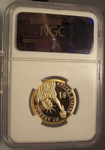 2010-S Franklin Pierce Presidential Series Proof Dollar NGC PF 69 UC #G029