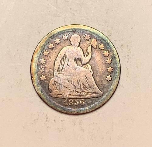 1856 Seated Liberty Half Dime [SHD 13]