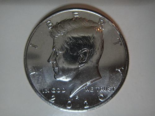 2020-P Kennedy Half Dollar MS-64 (Near Gem)