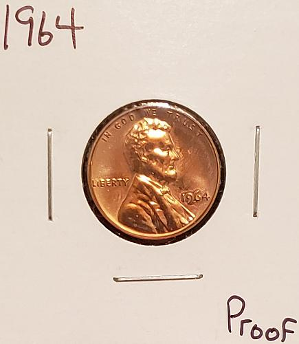 1964 P Lincoln Memorial Cent Small Cent