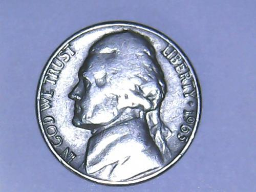 1963 D Jefferson Nickel