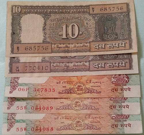 c).....India circulated lot..