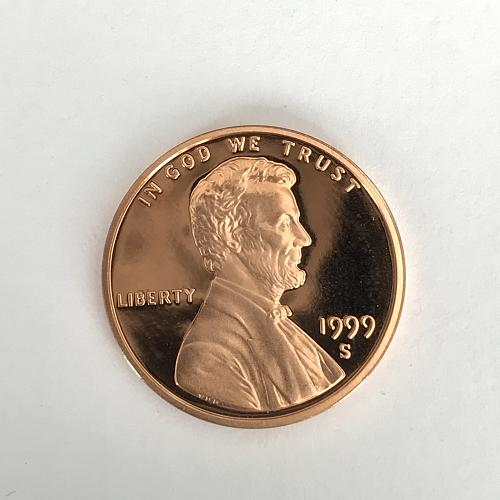 1999 S Proof Lincoln Cent (1107-6)